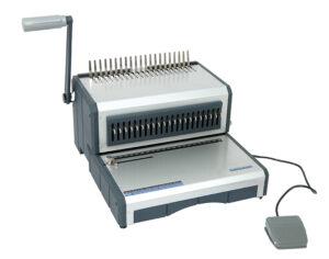 AmBind D160 elektrische Stanz- und Bindemaschine für Plastikringbindung