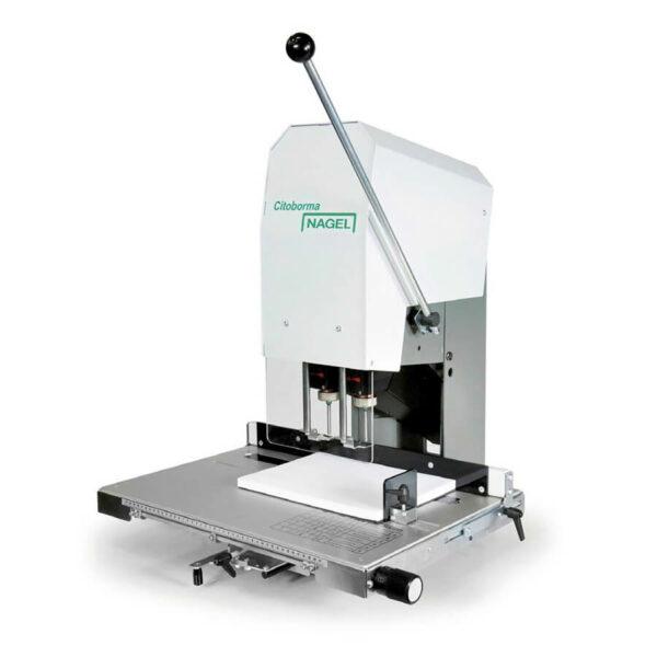 Nagel Citoborma 290 Papierbohrmaschine mit zwei Bohrspindeln