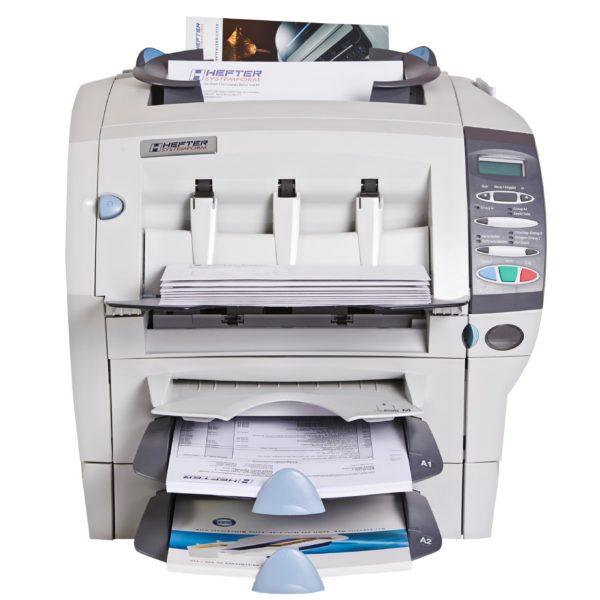 Hefter SI-1050 Kuvertiermaschine (mit Beilagenstation)