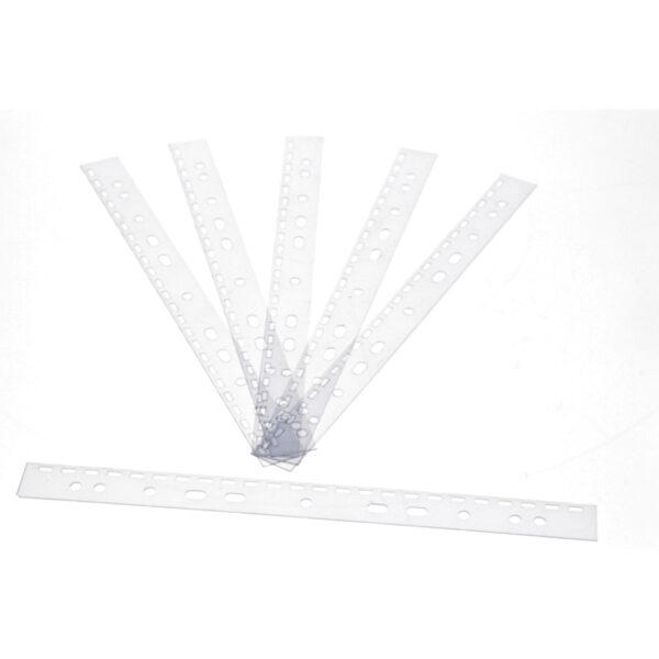 Abheftstreifen DIN A4 3 : 1 Teilung, 100 Stück