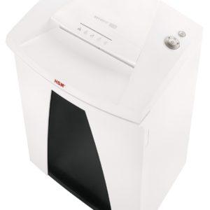 Aktenvernichter HSM Securio B34  Partikelschnitt 0,78 x 11 mm, mit integriertem Öler