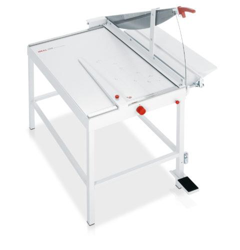 Ideal 1080 mit 75° Werkstoffmesser (für Papier und andere Werkstoffe) Hebelschneider