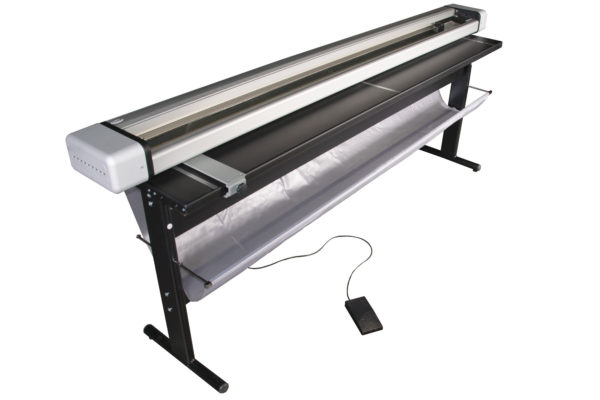 Neolt Electro Trim 130 Rollenschneider mit LED-Beleuchtung und Untergestell