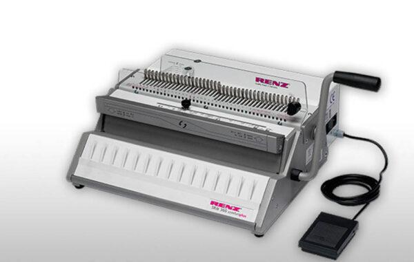 Renz Drahtkammmbindemaschine SRW 360 Comfortplus, 3:1 Teilung