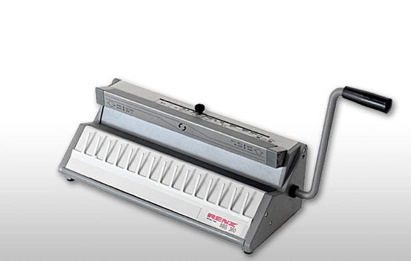 Renz WBS 360 Handschließmaschine für Drahtkammbindung