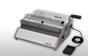 Renz Drahtkammmbindemaschine eco 360 Comfortplus, 2:1 Teilung