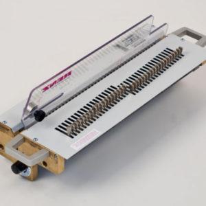 Renz Stanzwerkzeug für DTP 340 M Rundloch 6 mm, Teilung 2:1 ohne Daumenloch