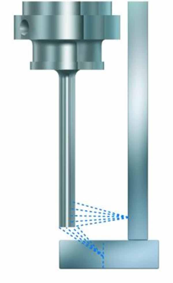 Bohrerkühlung für Nagel Citoborma Papierbohrmaschinen