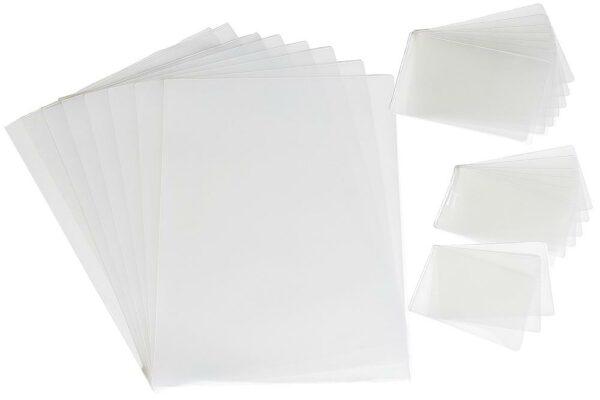 Laminiertaschen Kreditkartenformat 54 x 86 125 mic 100 Stk.